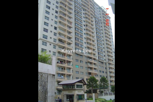 For Rent Apartment at Alpine Tower, Bukit Jambul Leasehold Unfurnished 3R/2B 1.3k