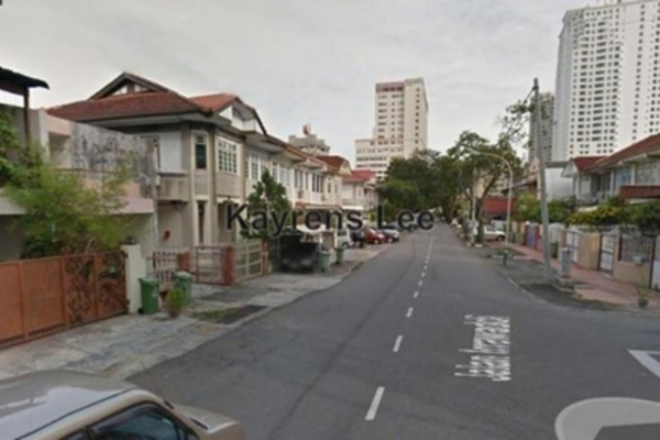 For Rent Terrace at Jalan Irrawaddi, Georgetown Leasehold Unfurnished 3R/2B 2.8k