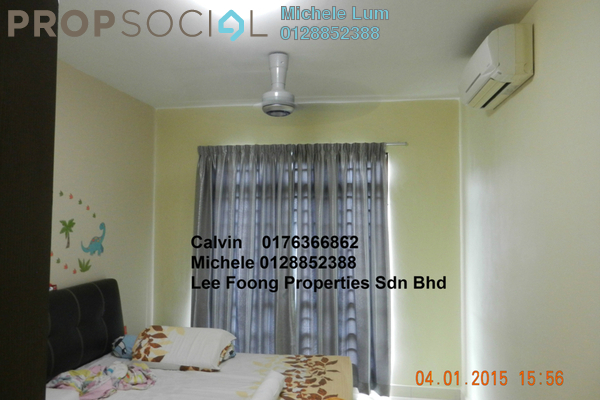 For Sale Condominium at Villa Park, Seri Kembangan Freehold Semi Furnished 4R/2B 550k