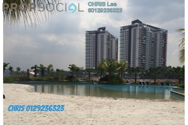 For Sale Condominium at Le Yuan Residence, Kuchai Lama Freehold Fully Furnished 3R/2B 860k
