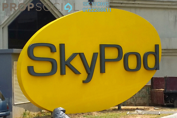 For Rent Condominium at Skypod, Bandar Puchong Jaya Freehold Fully Furnished 1R/1B 2k