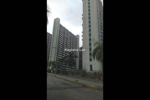 For Sale Apartment at Majestic Heights, Paya Terubong Leasehold Unfurnished 3R/2B 130k
