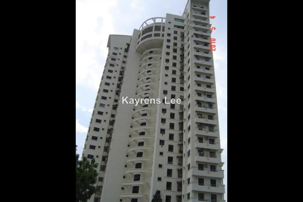 For Sale Apartment at Victoria Heights, Bukit Jambul Leasehold Unfurnished 3R/2B 480k