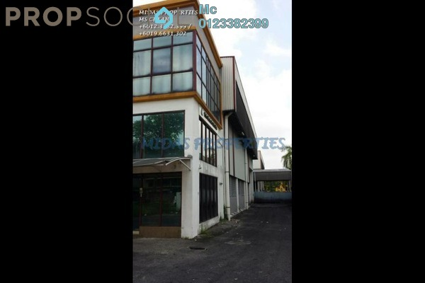 For Sale Factory at Temasya Industrial Park, Temasya Glenmarie Freehold Semi Furnished 0R/0B 6.8m