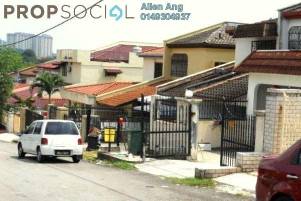 For Sale Terrace at Bukit Jelutong Timur, Bukit Jelutong Freehold Semi Furnished 4R/7B 758k
