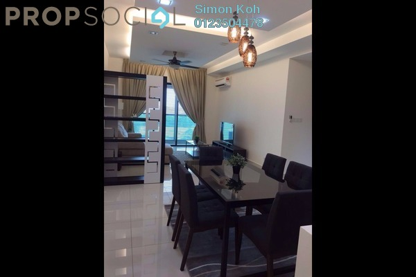 For Rent Condominium at Isola, Subang Jaya Freehold Semi Furnished 3R/2B 3.4k