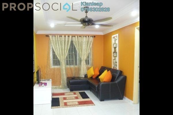 For Sale Apartment at Cendana Apartment, Bandar Sri Permaisuri Leasehold Semi Furnished 3R/2B 258k