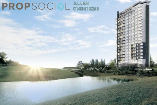 For Rent Condominium at Fairway View, Bukit Jambul Leasehold Semi Furnished 2R/2B 1.5k