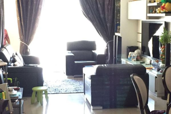 For Sale Condominium at Vistaria Residensi, Cheras Leasehold Semi Furnished 3R/2B 745k