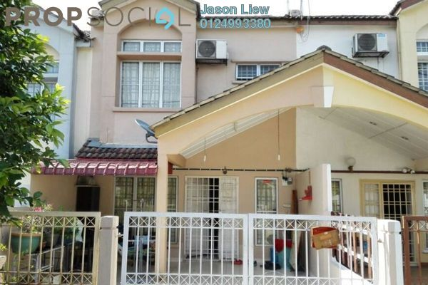 For Sale Terrace at Section 6, Bandar Mahkota Cheras Freehold Semi Furnished 4R/3B 520k
