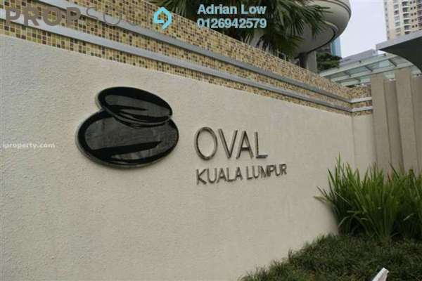 For Sale Serviced Residence at The Oval, KLCC Freehold Fully Furnished 3R/3B 4.2百万
