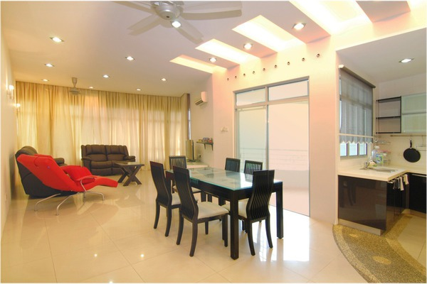 For Rent Condominium at The View, Batu Uban Freehold Semi Furnished 3R/2B 3.2千