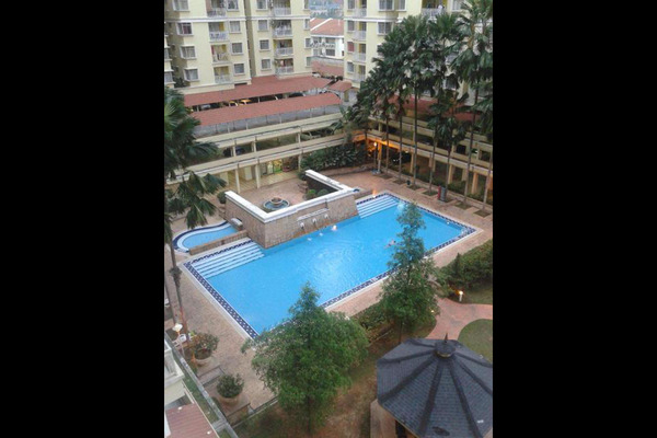 For Rent Condominium at Platinum Hill PV3, Setapak Freehold Semi Furnished 4R/3B 1.5k
