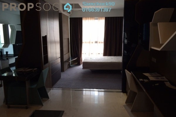For Rent Condominium at VERVE Suites, Mont Kiara Freehold Fully Furnished 0R/1B 2.6k