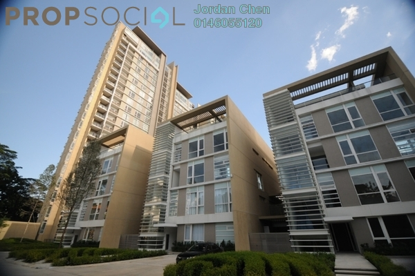 For Sale Condominium at One Menerung, Bangsar Freehold Semi Furnished 3R/4B 4.39m
