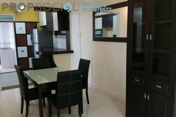 For Rent Condominium at Taman Perling, Iskandar Puteri (Nusajaya) Freehold Fully Furnished 3R/2B 1.6k