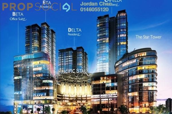 For Sale Condominium at Pacific Star, Petaling Jaya Leasehold Semi Furnished 1R/1B 300k