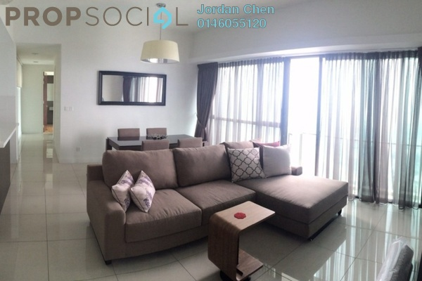 For Rent Condominium at Setia Sky Residences, KLCC Freehold Fully Furnished 2R/2B 3.56k