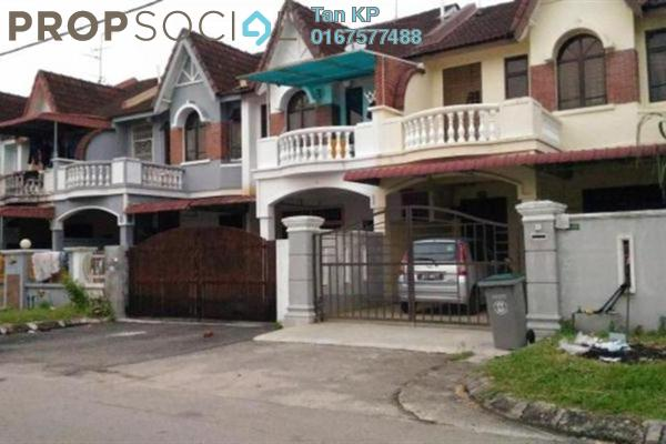 For Sale Terrace at Taman Daya, Tebrau Freehold Unfurnished 4R/3B 390k