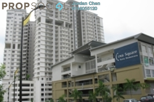 For Rent Condominium at Cova Suite, Kota Damansara Leasehold Fully Furnished 3R/2B 2.33k