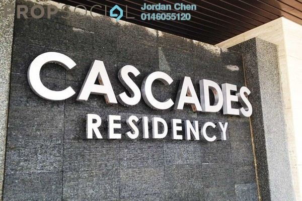 For Rent Condominium at Cascades, Kota Damansara Leasehold Semi Furnished 3R/2B 2.56k