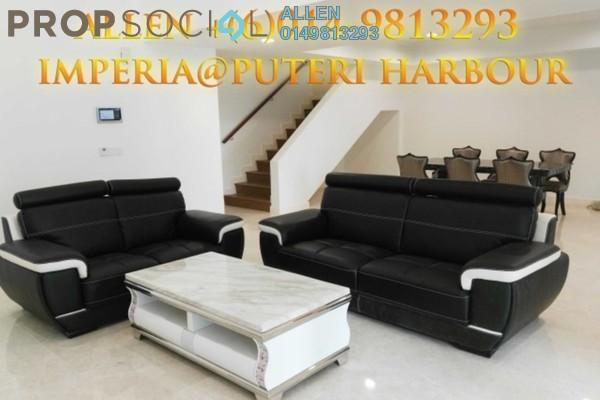 For Rent Condominium at Imperia, Puteri Harbour Freehold Semi Furnished 1R/2B 3.1k