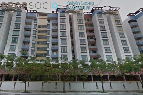 For Sale Condominium at Taman Sri Sinar, Segambut Freehold Semi Furnished 3R/2B 460k