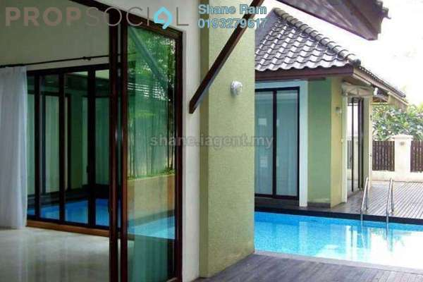 For Rent Bungalow at Villa Mont Kiara, Mont Kiara Freehold Semi Furnished 5R/6B 17k