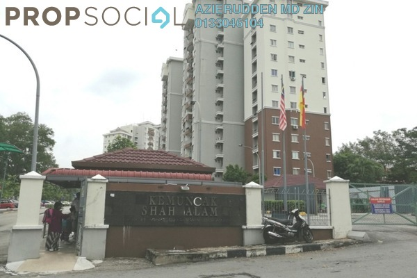 For Sale Condominium at Kemuncak Shah Alam, Shah Alam Leasehold Semi Furnished 5R/5B 900k