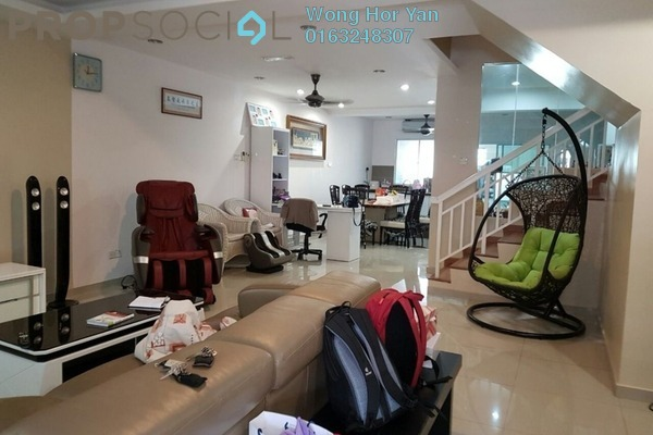 For Sale Terrace at Taman Putra Impiana, Puchong Leasehold Semi Furnished 4R/3B 798k