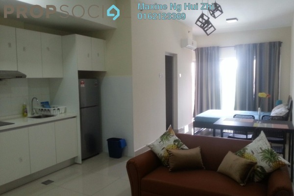 For Rent Condominium at Suria Jelutong, Bukit Jelutong Freehold Fully Furnished 1R/1B 1.3k