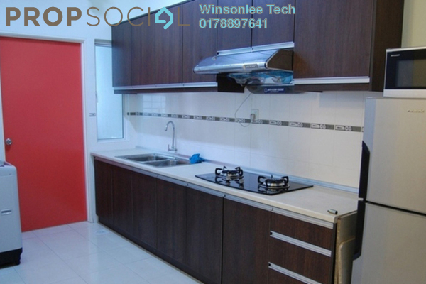 For Sale Condominium at 222 Residency, Setapak Freehold Semi Furnished 3R/2B 600k