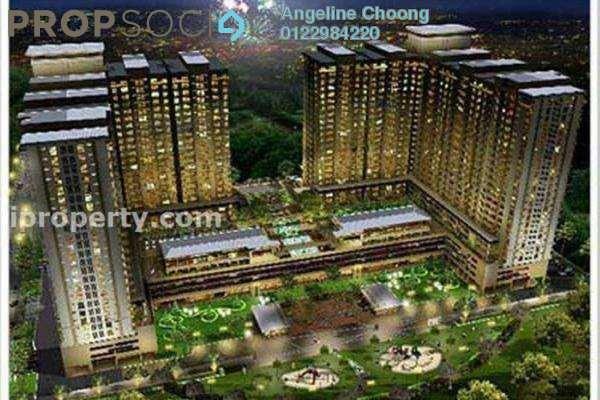 For Rent Condominium at Platinum Lake PV13, Setapak Leasehold Semi Furnished 4R/2B 1.7k