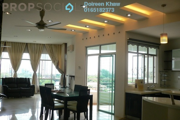 For Rent Condominium at The View, Batu Uban Freehold Fully Furnished 3R/3B 3.2千