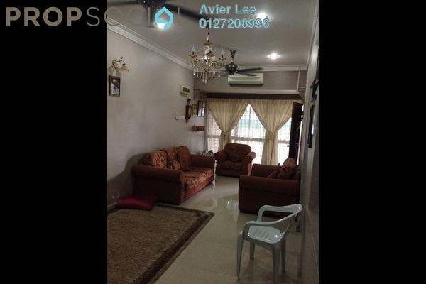 For Sale Terrace at Taman Klang Utama, Klang Freehold Semi Furnished 4R/2B 320k