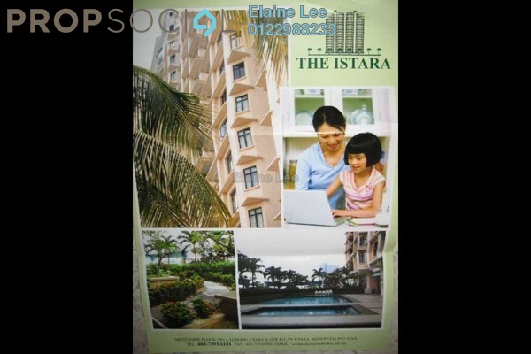 For Rent Condominium at The Istara, Petaling Jaya Leasehold Fully Furnished 2R/2B 3k