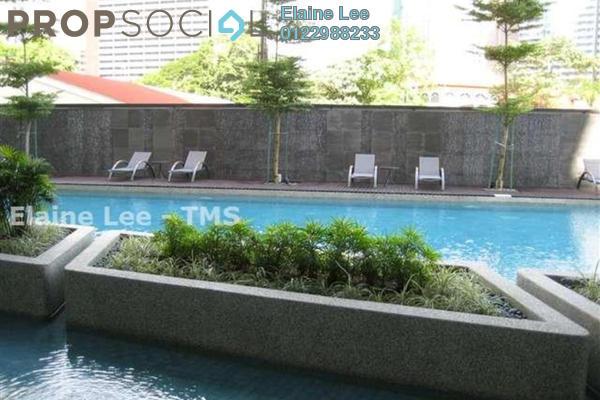 For Rent Condominium at Idaman Residence, KLCC Freehold Semi Furnished 2R/2B 6k