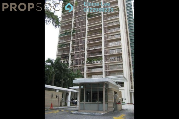 For Rent Condominium at Hampshire Park, KLCC Freehold Semi Furnished 3R/3B 10.0千