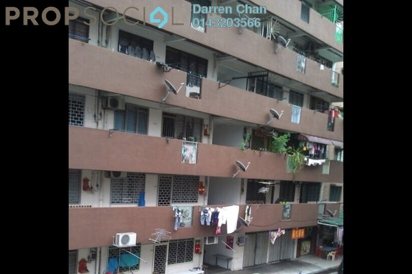For Rent Apartment at Taman Miharja, Cheras Leasehold Unfurnished 3R/2B 1.2k