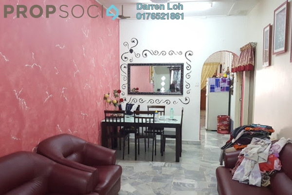 For Sale Terrace at Taman Puchong Intan, Puchong Leasehold Semi Furnished 3R/2B 418k