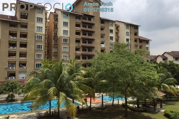 For Rent Condominium at Paradesa Tropika, Bandar Sri Damansara Freehold Fully Furnished 3R/2B 2Ribu