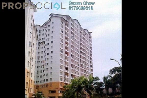 For Rent Apartment at Merdeka Villa, Ampang Leasehold Unfurnished 3R/2B 1.1k