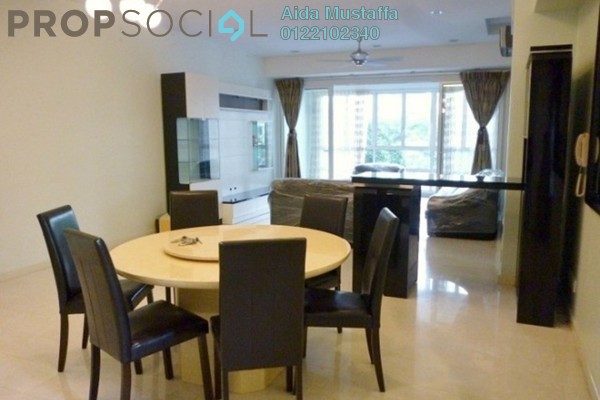 For Rent Condominium at Kiaraville, Mont Kiara Freehold Fully Furnished 3R/4B 6k