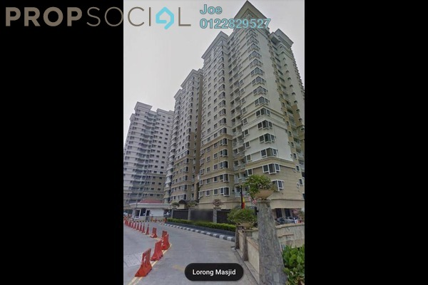 For Sale Condominium at Pelangi Utama, Bandar Utama Leasehold Semi Furnished 3R/2B 595k