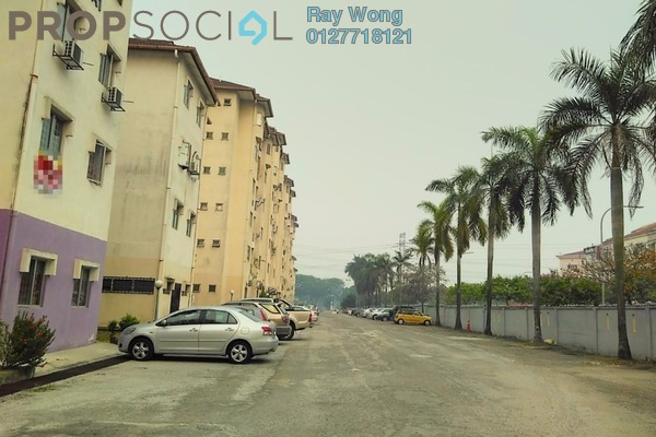 For Sale Apartment at Pelangi Court, Klang Freehold Unfurnished 3R/2B 150k