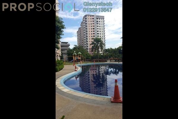 For Rent Condominium at Sri Bayu Apartment, Bandar Puchong Jaya Freehold Semi Furnished 3R/2B 1.1k