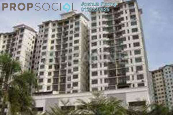 For Rent Condominium at Section 8, Kota Damansara Leasehold Semi Furnished 3R/2B 1.9k
