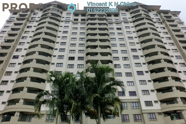 For Rent Condominium at Anjung Hijau, Bukit Jalil Freehold Fully Furnished 3R/2B 1.7k