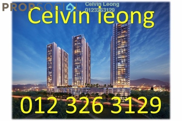 For Sale Condominium at Sentul Point, Sentul Freehold Unfurnished 2R/2B 368k