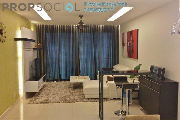 For Sale Condominium at Solaris Dutamas, Dutamas Freehold Fully Furnished 2R/2B 1.25m